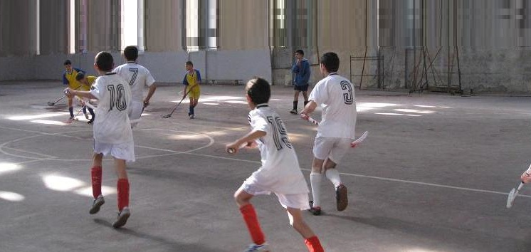 FLOORBALL MATCH BETWEEN AYRUDZI-1 AND TARON